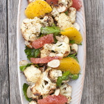 Roasted Cauliflower and Citrus Salad