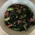 Kale, Grapefruit, and Avocado Salad with Grapefruit Dijon Viniagrette