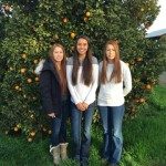Christyna, Savannah, and Serena - the 3 daughters of Nacho and Cassi