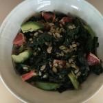 Kale, Grapefruit, and Avocado Salad with Grapefruit Dijon Viniagrette
