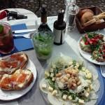 Tasty food in Italy!